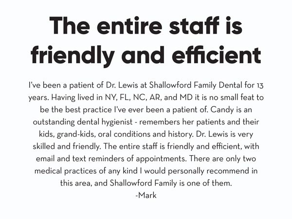 shallowford family dental group review image